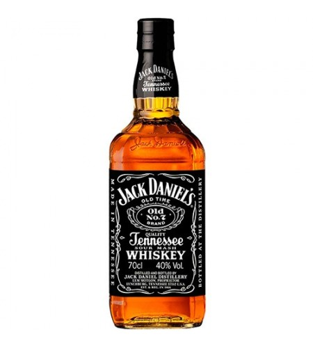Tennessee Whiskey - Jack Daniels 40% (10625)
